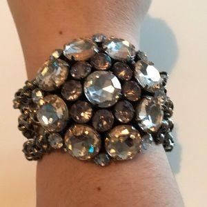 Ann Taylor Loft Flower Stretch Bracelet